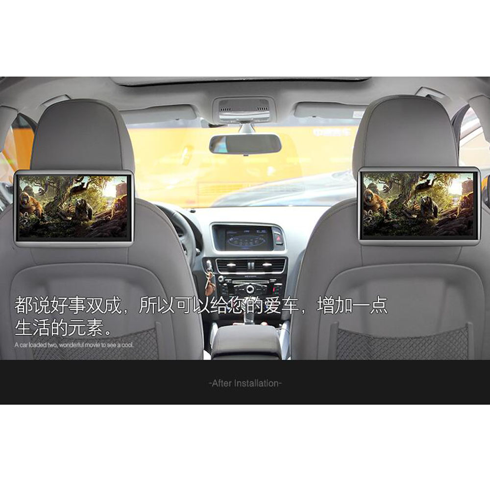 Aliexpress com buy two pcs latest android system car flip down monitor best buy headrest dvd player for lincoln all series car models from reliable
