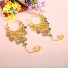 Bollywood dance Jewelry belly accessories Dance Wear Bracelets 1 Pair Set Indian Accessories