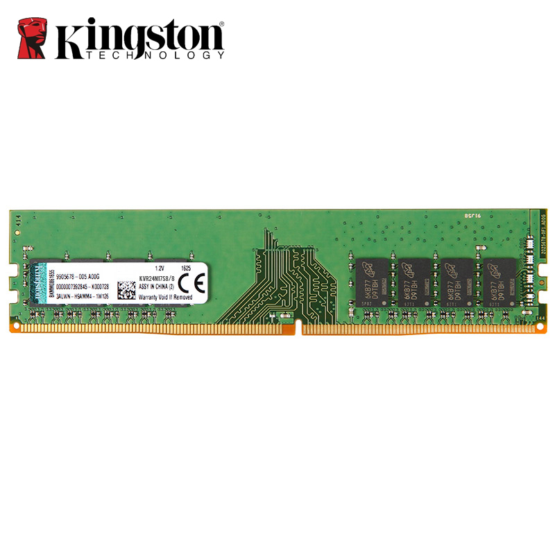 Kingston DDR4 RAM 8 GB 4 GB 2400 Mhz Memoria ram ddr 4 Bâtons PC4-2400 1.2 V SDRAM 288Pin 1Rx8 CL17 De Bureau PC gaming ddr4 16 gb
