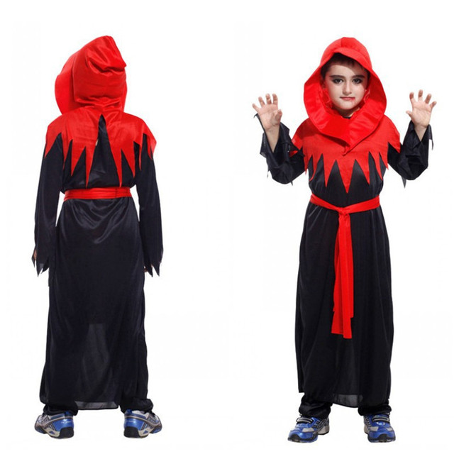 Clearly can Kids devil halloween costumes