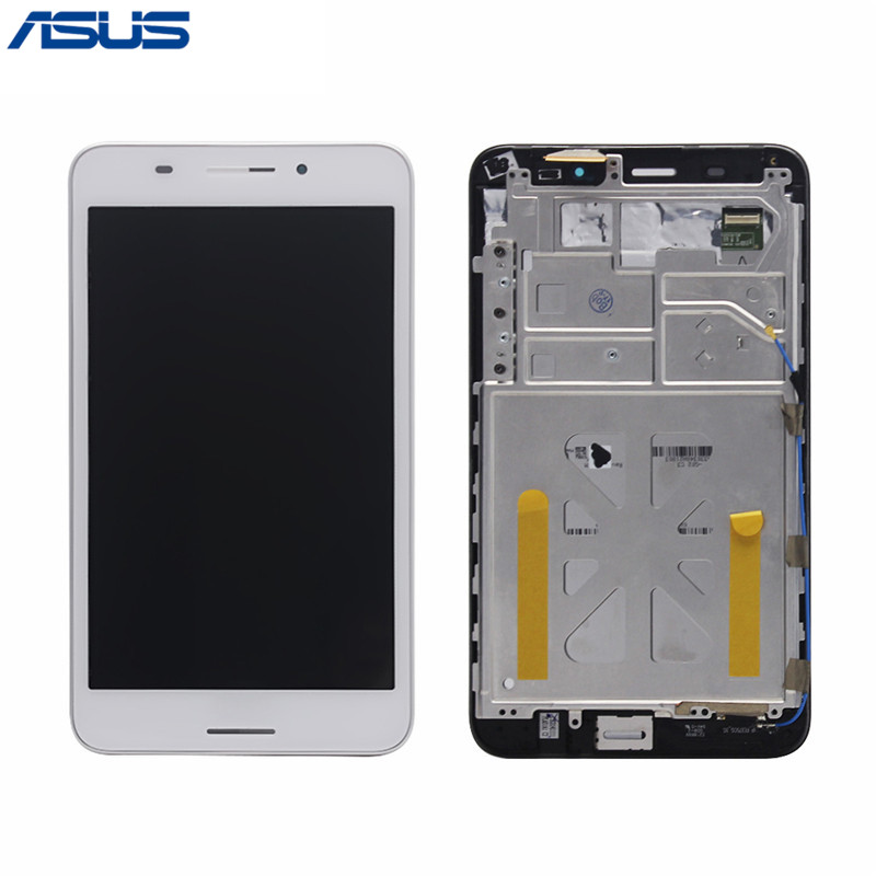 Asus FE375 LCD Display Touch Screen Assembly with Frame Replacement Parts For ASUS Fonepad 7 FE375 FE375CG ME375 LCD screen asus lcd display touch screen assembly with frame for asus vivotab smart me400c 10 1 replacement parts