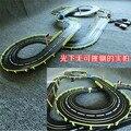 636 см 1:43 Электрический вагон трек набор двойной RC racing детские игрушки мальчики подарок