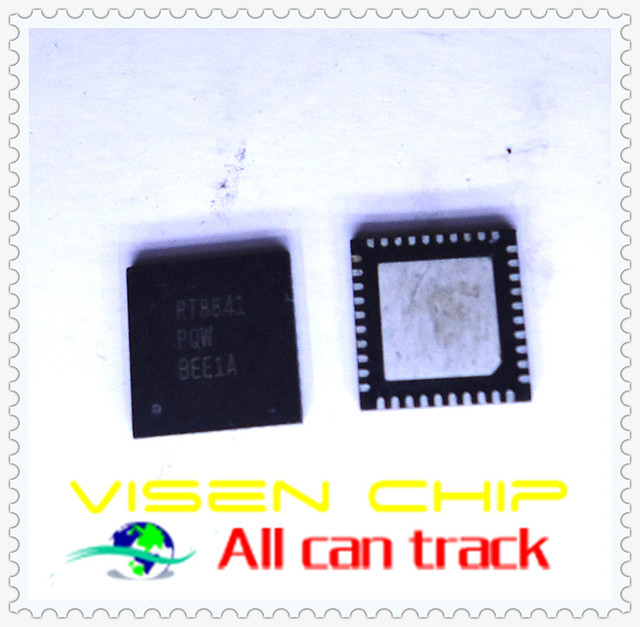 10pcs RT8841GQW  RT8841PQW RT8841 4/3/2/1-Phase PWM Controller for High-Density Power Supply