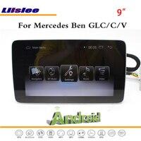 Liislee Android мультимедиа для Mercedes Benz GLC/C/V класса 2015 ~ 2017 Радио стерео CD dvd плеер gps Navi навигация Системы
