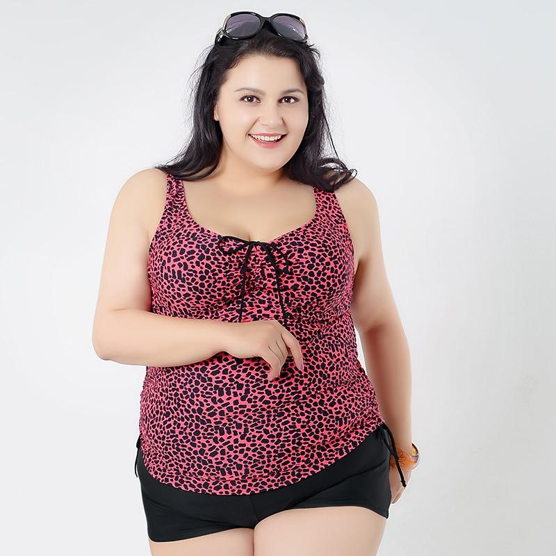 2017 Large Size Swimsuits Tankini Plus Size Swimwear Dress For Women