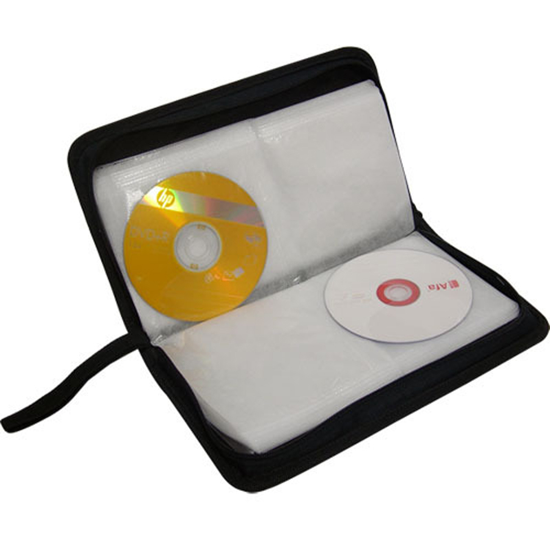 40/80 Disc CD DVD Capacity Case Storage Holder Carry Case Organizer Sleeve Wallet Cover Bag Box CD DVD Storage Cover Accessory