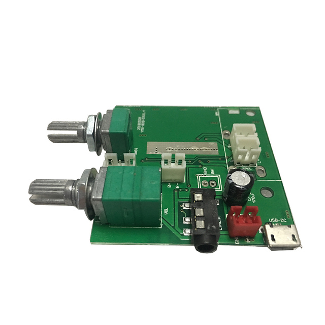 Bluetooth 5.0 Subwoofer amplifier 5W*2+10W  stereo digital amplifier board 5V3A with bass adjustment