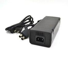Для Microsoft Xbox 360 X-360 S тонкий 135 Вт блок питания адаптер переменного тока зарядное устройство 220 В Зарядка питание Шнур кабель Линия ЕС/США