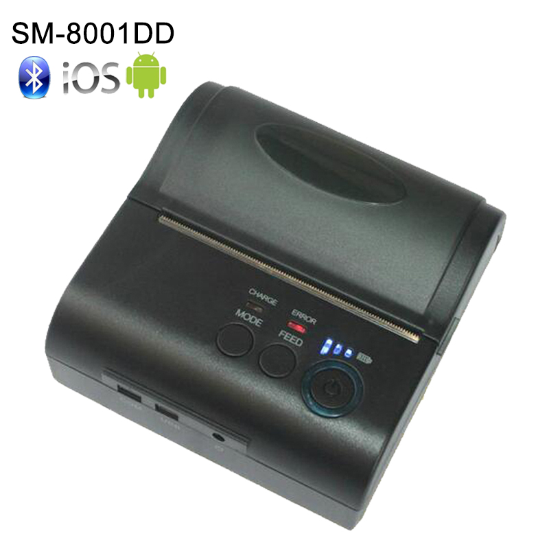 Gratis SDK 80 mm mobiele draagbare thermische bonnenprinter Android - Office-elektronica