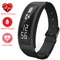 Heart Rate Blood Pressure Oxygen ZB63 Smart Talk Band Portable Talkband Bracelet Bluetooth Call For iOS Android Phone PK Huawei