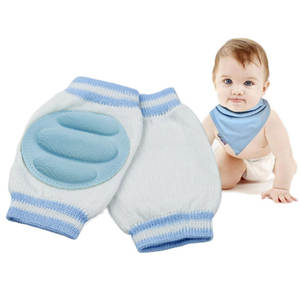 Socks Kneepad Crawling-Protector Baby-Care-Product Children Cotton 3-Colors Short Kids