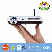 DH-A70 Blu-Ray 3D Function Smart Android 4.4 Projector WIFI BT DLP TV LED Home Theater Proyector With Touch button Beamer