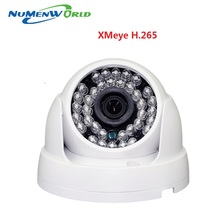 Real H.265 2.0MP IR network IP cam 1080P HD CCTV Video surveillance dome security IP camera ONVIF day/night indoor webcams
