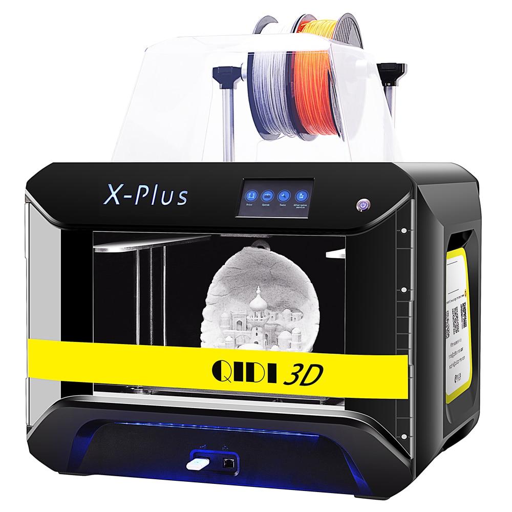 QIDI TECH X-Plus 3D Printer Large size high temperature extruder print pc nylon carbon fiber 270*200*200