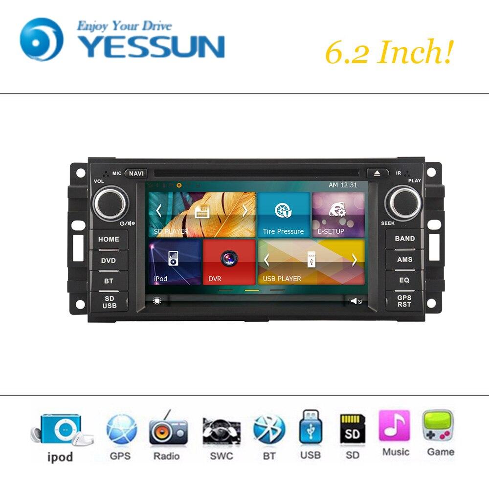 Car DVD Player Wince System For <font><b>Chrysler</b></font> Sebring/ Jeep/ Dodge Autoradio Car Radio Stereo GPS Navigation Multimedia Audio Video