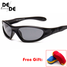Kids Baby Safety Polarized Sunglasses TAC Child Sun Glasses Girl Boys Outdoor Goggles Polaroid Sunglass Infant UV400 with case