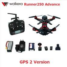 F16181 Walkera Runner 250 Advance with 1080P Camera Racer RC Drone Quadcopter RTF with DEVO 7 OSD Camera GPS 2 Version