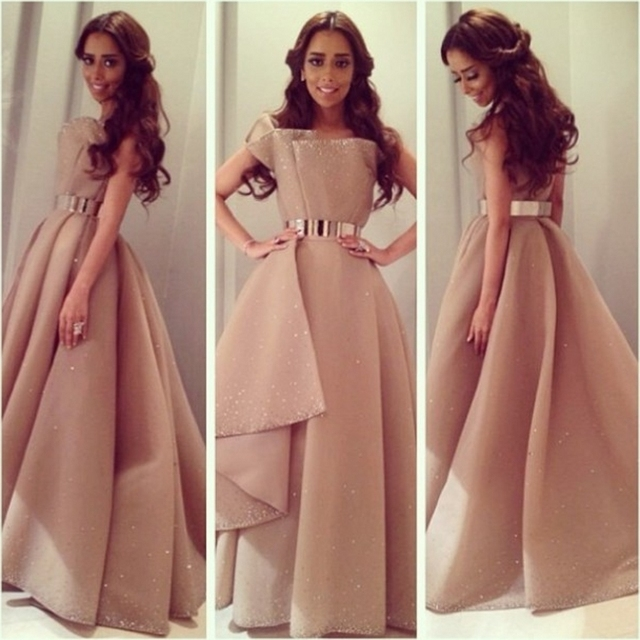 67251652815 Линия арабский дизайн атласная длинные вечерние платья с золотым поясом  элегантный блесток длиной до пола вечерние