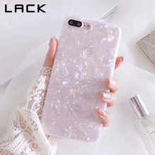 LACK Trend Conch Shell Cellphone Case For iphone 6S Case For Apple iphone X 6 7 eight Plus Again Cowl Luxurious Pretty Instances Humorous Coque