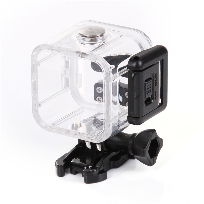 45m Underwater Waterproof Case for GoPro Hero 4 Session 5 Session Action Camera Transparent Diving Case Mount Go Pro Accessories