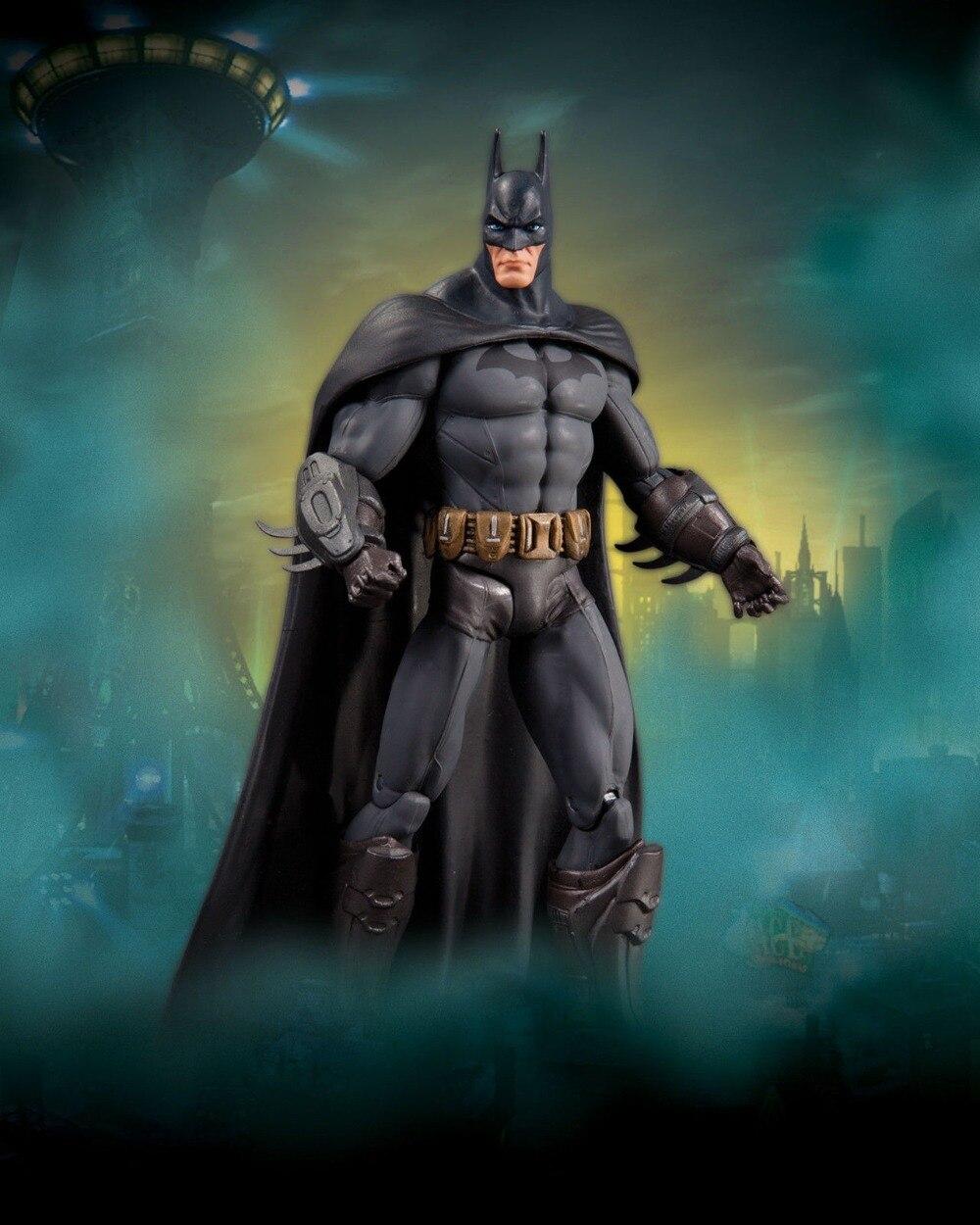 Collectibles Batman: Arkham City Series 3 BATMAN Action Figure Asylum Direct DC 18cm Series limited 18cm high classic toy forrest gump batman arkham asylum action figure toys
