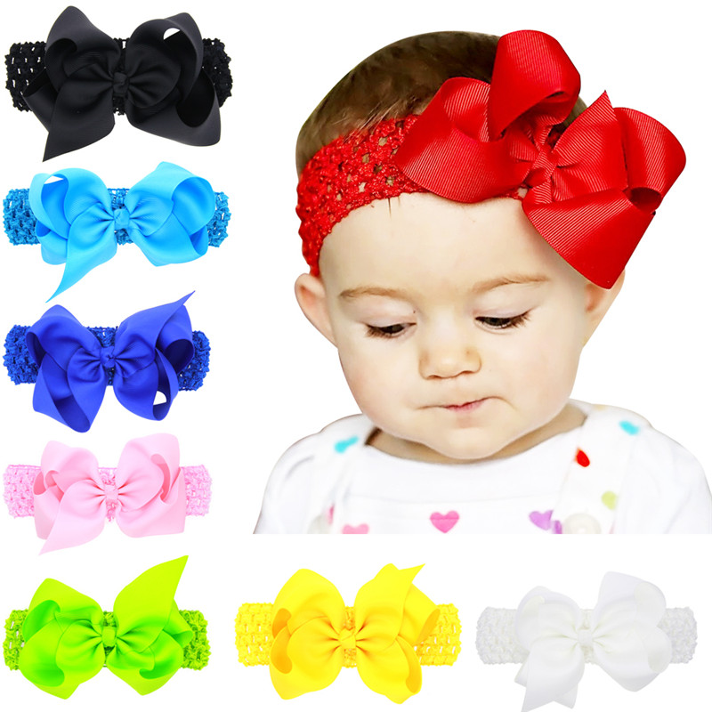 100PCS/LOT Fashion Handmade Width Solid Creative Design Wave Hair Bow Best Party Dress Up Hairpin for Kid Girl Clip DIY Headband