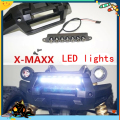 Front Bumper WHITE LED Lamp Lighting System Light Bar for Traxxas X MAXX X-Maxx 77076-4