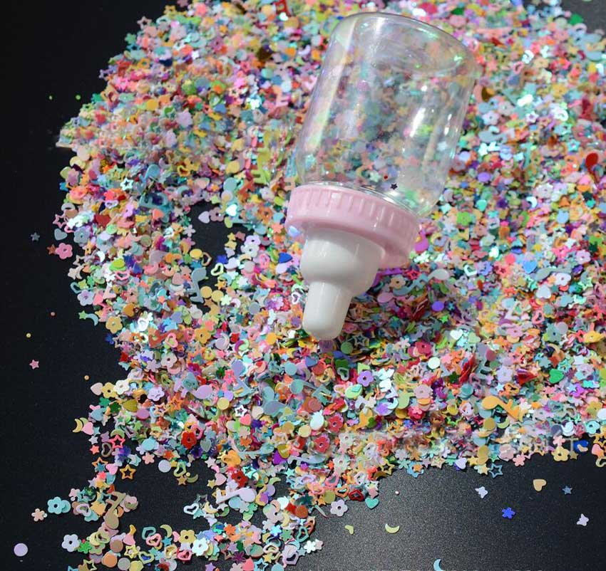 25,000pcs 3mm Multicolors Acrylic Sequins Confetti For Wedding Bridal Party Holiday Throwing Confetti Table Decoration Sprinkles