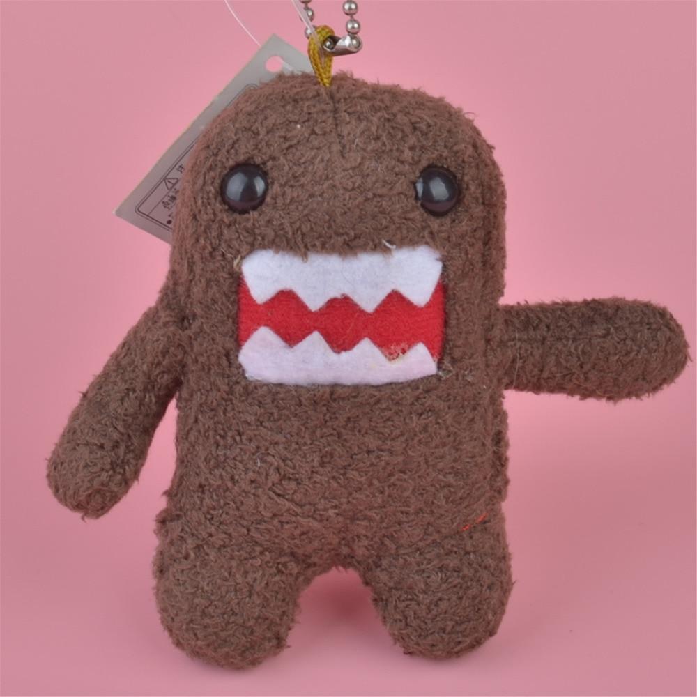 1 Pcs DOMO KUN Small Plush Pendant Toy, Kids Doll  Keychain / Keyholder Gift Free Shipping