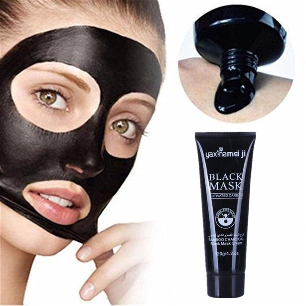 Black Mask Nose Peeling Off Blackhead Remover Face Packs Acne Treatment For Face Deep Cleansing Skin Pigmentation Shrink Pores