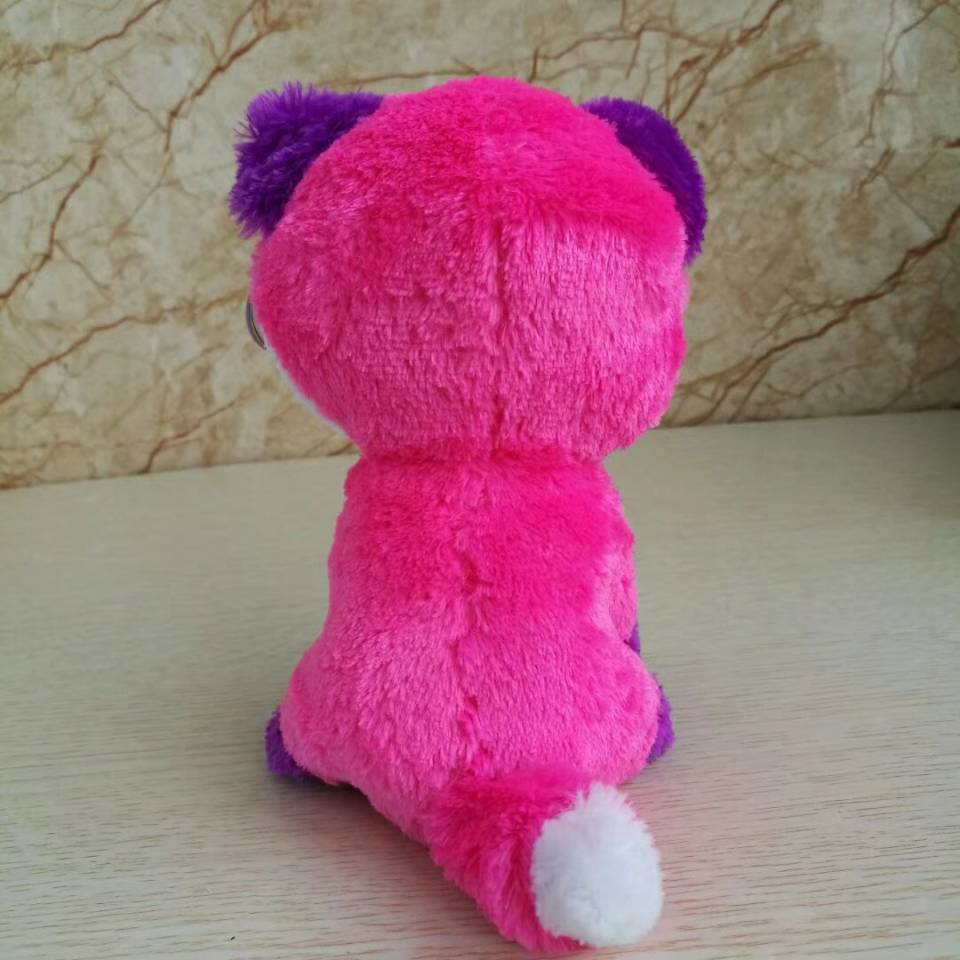 beadbaec218 Joey Fox TY BEANIE BOOS 1PC 15CM BIG EYE Plush Toys Stuffed animals KIDS  TOYS VALENTINE GIFT children toy SOFT toy-in Stuffed   Plush Animals from  Toys ...