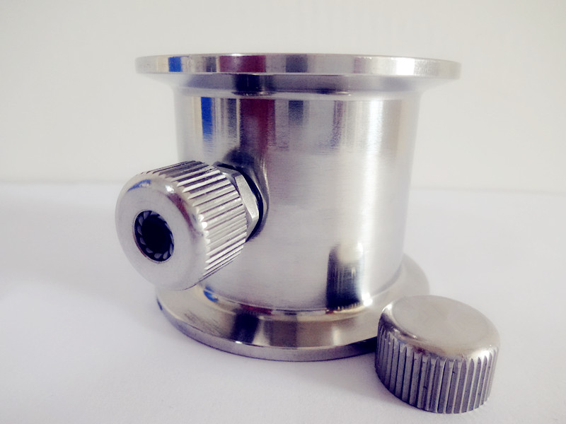 Free Shipping 1.5---4 Tri-clamp  Pipe With Thermowell Nipple , Tri-clamp Connection  Pipe Fitting,Sanitary Stainless Steel 304