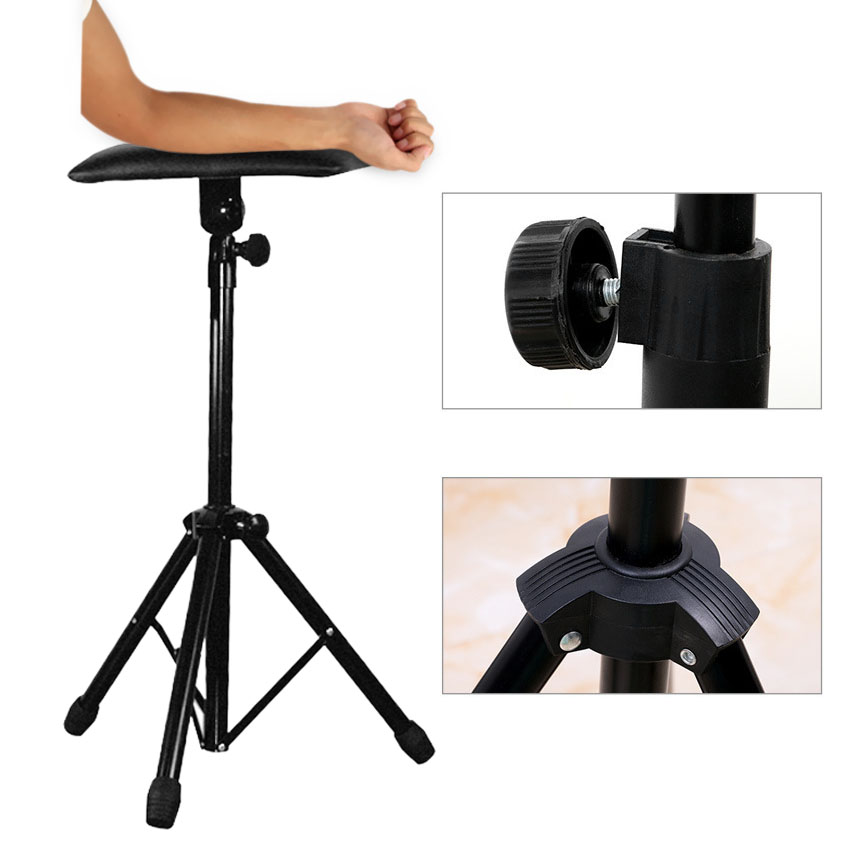 Tattoo Arm Holder Rest Relax Stand Portable Adjustable Tattoo Bracket Iron Frame Tripod Machine For Tattooing Studio Work Supply