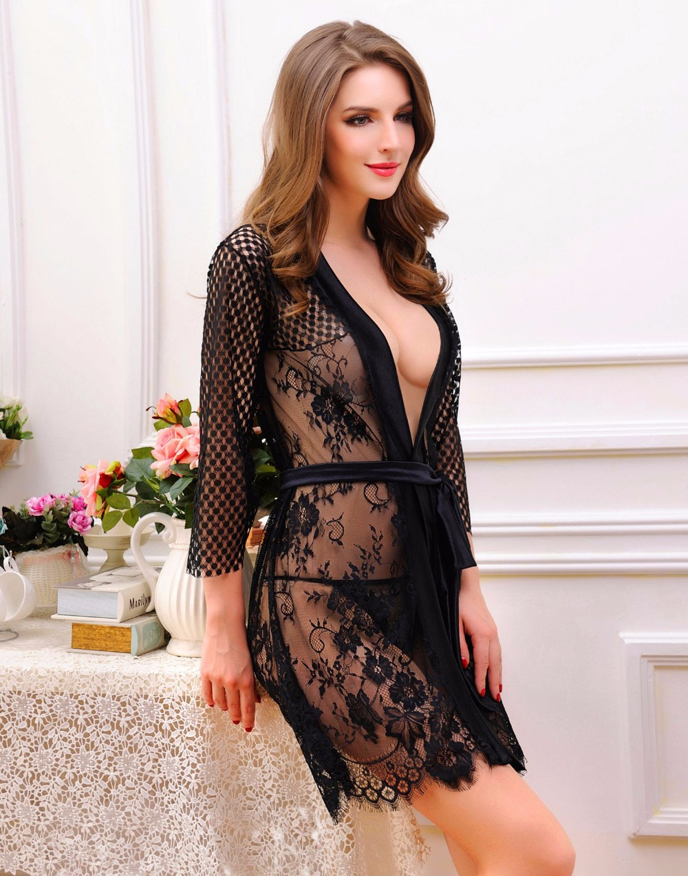 sexy-gown-lingerie-brown-girls