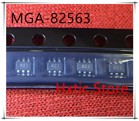 10pcs 100% New And Orginal MGA-82563-TR1G MGA-82563 MGA82563 MARKING 82 SOT-363 IC