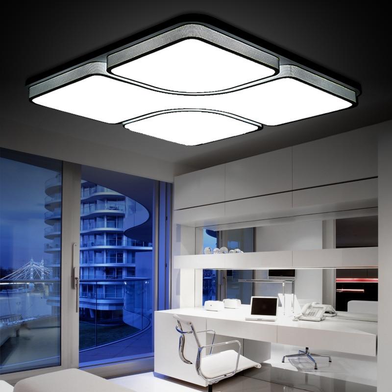 Buy 110v 220v modern ceiling lamp luces - Lamparas decorativas de techo ...