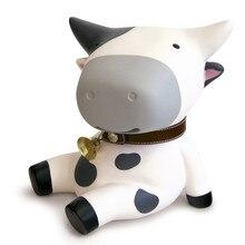 Semk Pvc Anime Figur Cow Pengar Box Doll Gulliga Action Figurer Leksaker Högkvalitativa Presenter till barn