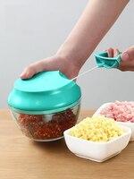 Kitchen multi function shredder manual meat grinder hand crushing machine garlic grinder twisting cooking artifact