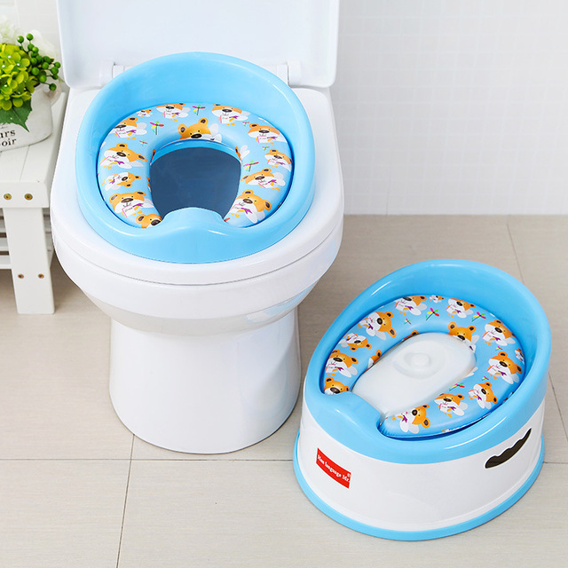 Portable Baby Potty Cut Cartoon Musical Toilet Car Childrens Child Chair Training Girls