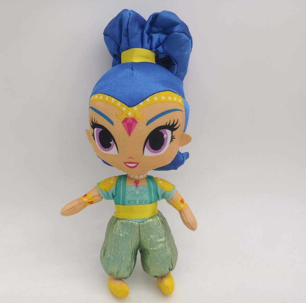Shimmer And Shine sister Plush Doll pink and blue shine 36cm NEW #1