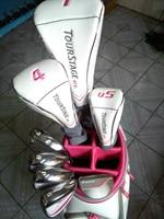 Womens Golf clubs complete set of clubs driver+fairway wood+irons+putter Graphite Golf shaft No ball packs