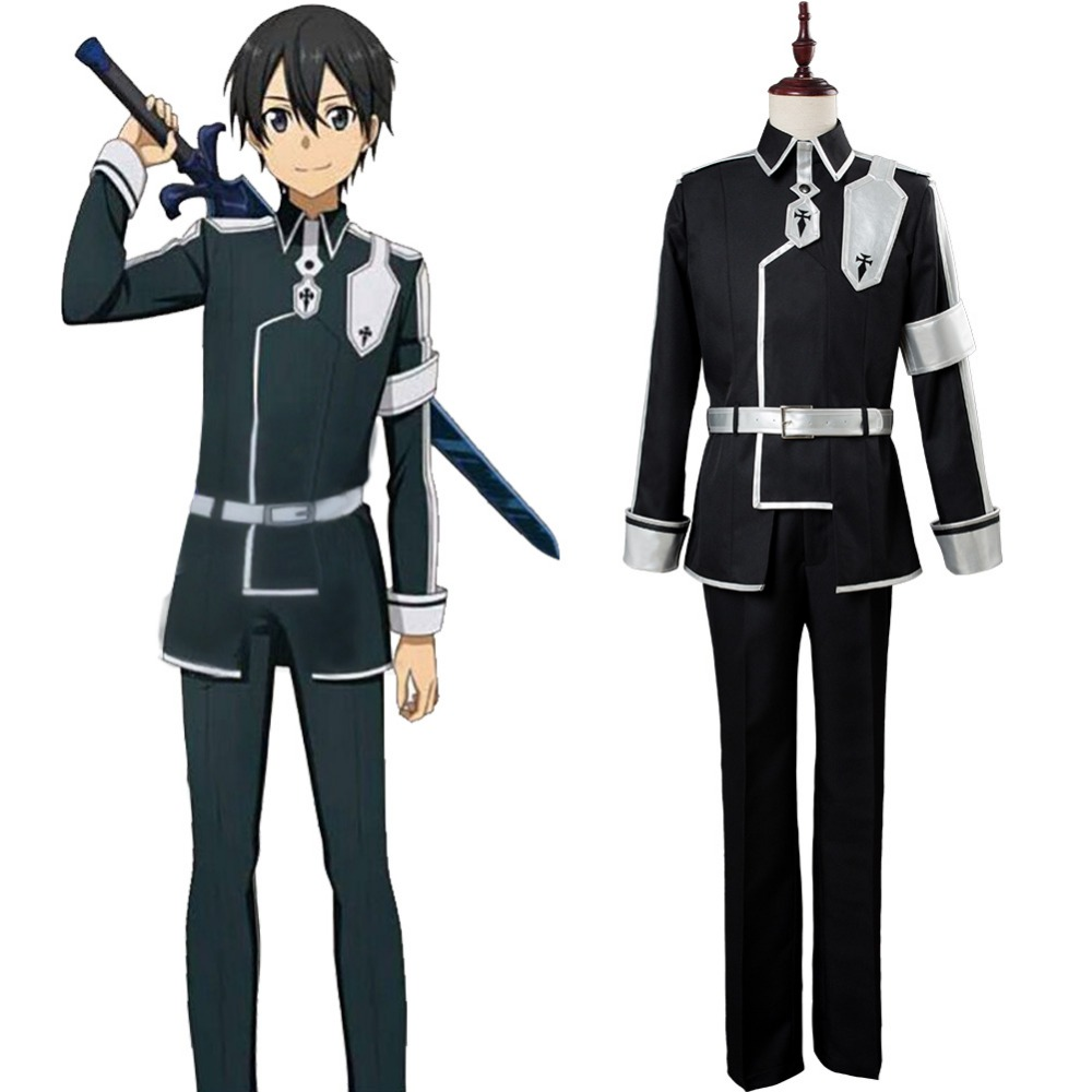 Sword Art Online Cosplay Alicization Kirigaya Kazuto Cosplay Costume SAO Season 3 Outfit Halloween Costumes Tailor Made