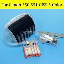 Пустые снпч для канона 550 551 PGI550 CLI551 совместим для канона 5450 7250 принтера с чипом арк