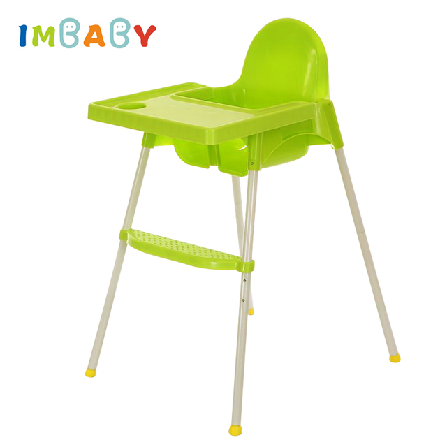 Baby Eating Chair Swivel Vw T5 Imbaby Feeding Booster Seat Portable Children Highchair For Toddlers Dining Adjustable Folding Chairs