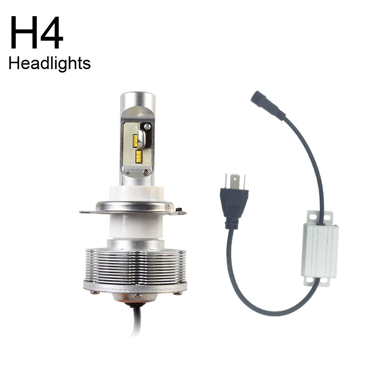 6000K Newest H4 LED Headlight Automobiles Convision Kit Driving LED H4 High Power 42W LED White Light Bulbs DC 12V 40V fit byd chery lifan mg led headlbulbs h4 h7 h1 h11high low beam auto bulbs led 6000k canbus external light automobiles headlight