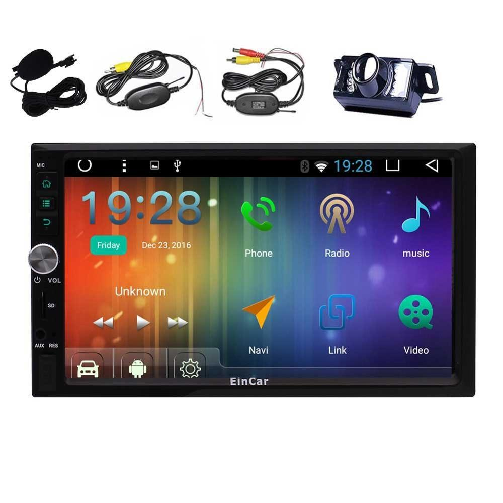 Android 6 0 Car Radio Stereo WiFi 2 Din Stereo Support 4G/3G OBD External  Microphone FM/AM RDS Radio Gps Navigator Backup Camera