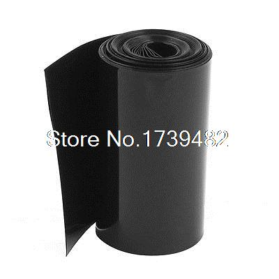 Cable Sleeves Electrical Equipments & Supplies Honesty 85mm/55mm Pvc Heat Shrink Tubing Wrap Black 5m 16.4ft For 18650 Battery Pack Can Be Repeatedly Remolded.