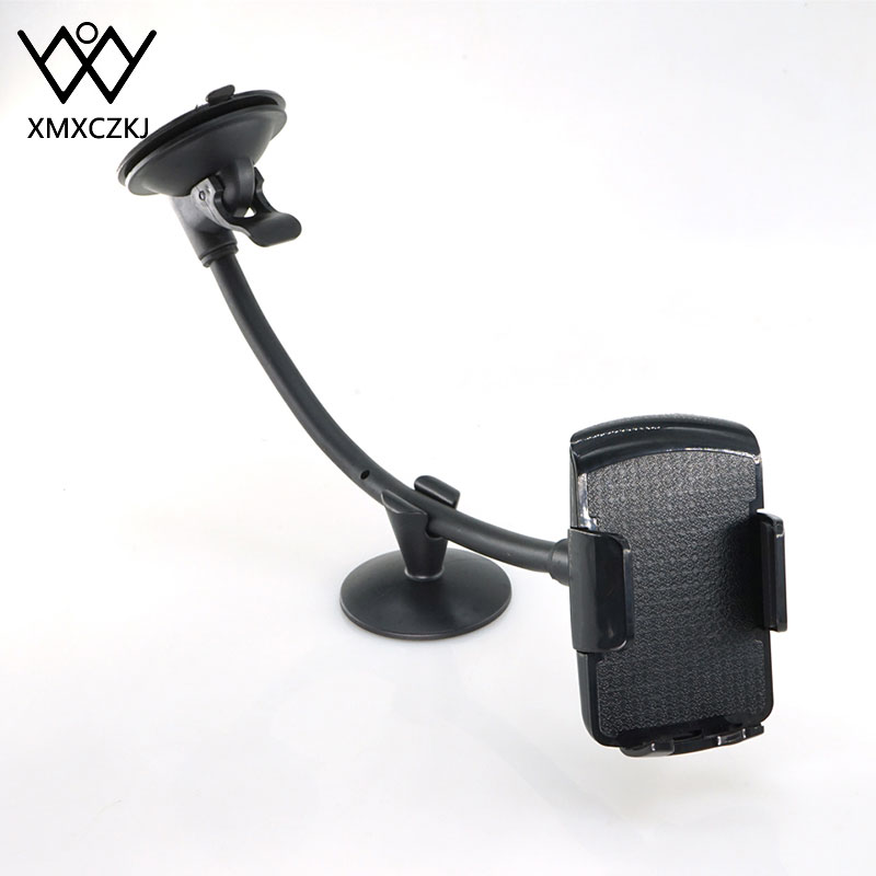 XMXCZKJ Flexible Adjustable Car Phone Holders Cellphone Mount Stand Long Arm Windshield Dashboard Phone Car Holder For IPhone XS