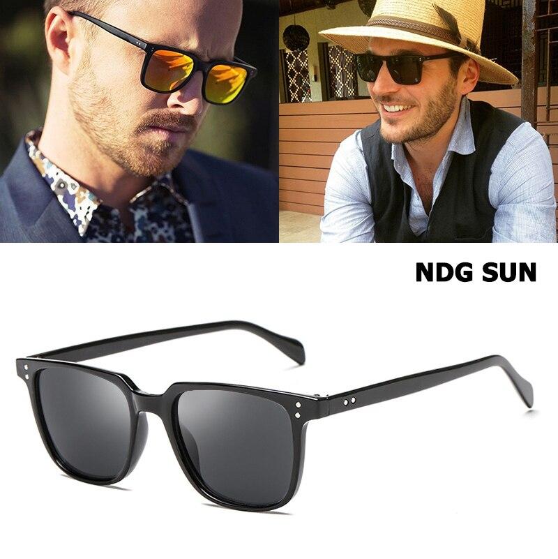 f1efef9f9c5 JackJad 2018 Fashion Cool NDG SUN Style Rectangle Sunglasses Unisex Vintage  Rivets Brand Design Sun Glasses