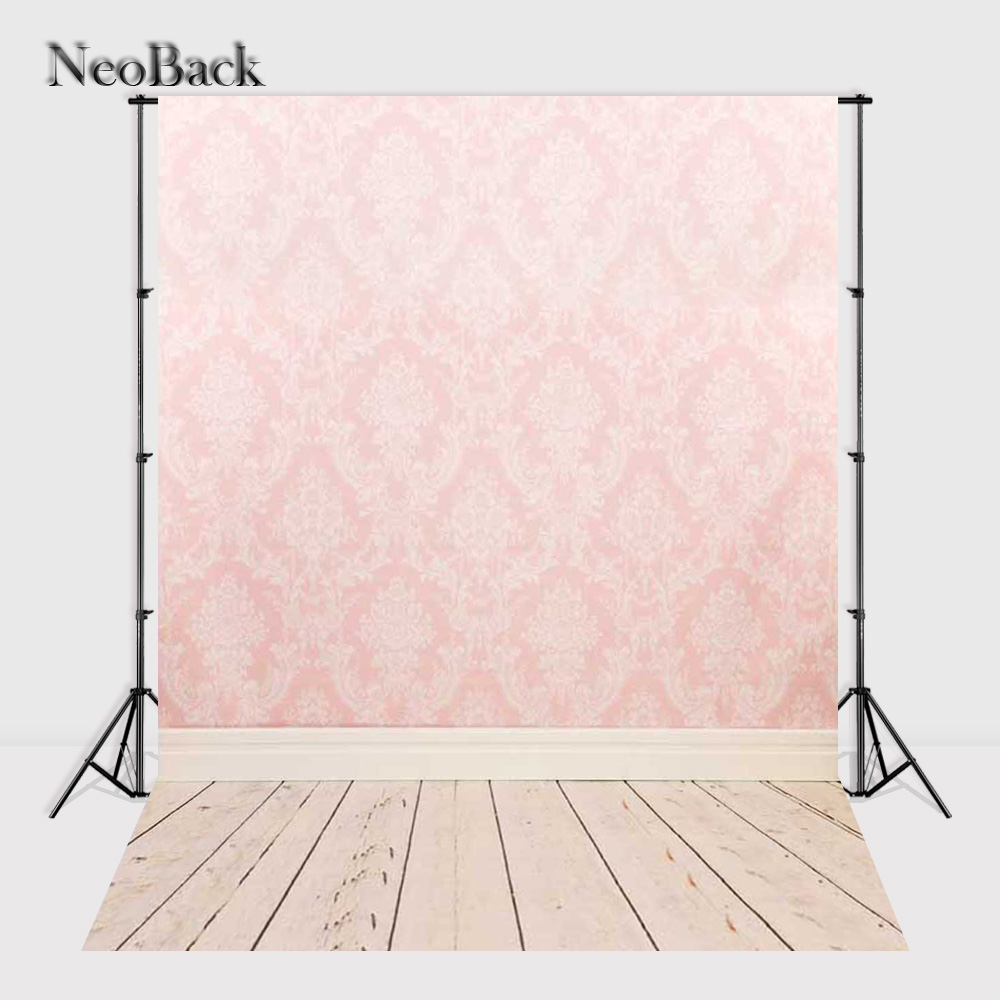 NeoBack 5x7ft Vinyl Cloth Photo backgrounds new born baby children photo shooting wall pattern Painted studio Backdrops P0012